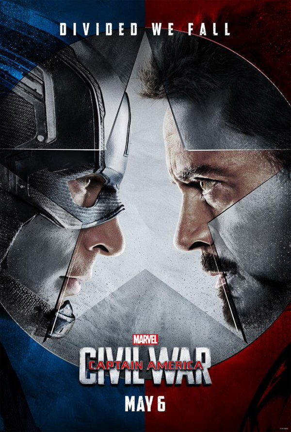 Captain America Civil War Poster Twitter