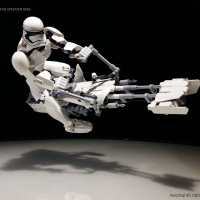 Check Out This Sick First Order Trooper Speeder Bike LEGO MOC!