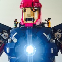Lego MOC Sentinel Made To Minifigure Scale Is Amazeballs