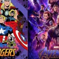 Avengers Movie Posters Reimagined In Classic Comic Book Art Style
