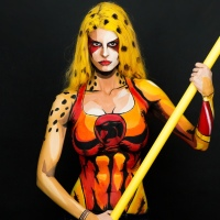 Artist's Body Paint Cosplay Completely Blows Us Away!